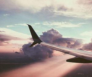 aesthetic, travel, and clouds image