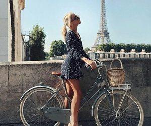 bike, drive, and france image