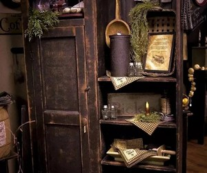 cupboard and witch image