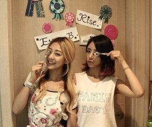 rise, ladies code, and eunb image