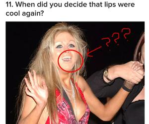 00s, fashion, and nude lips image