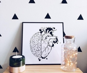 decoration, frame, and heart image