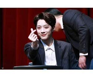 produce101, wannaone, and guanlin image