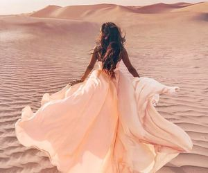 dress and desert image