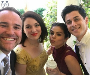 selena gomez, david henrie, and jennifer stone image