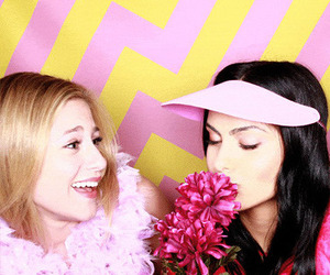 lili reinhart and camila mendes image