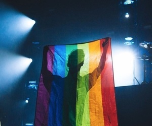 brendon urie, panic! at the disco, and lgbt image