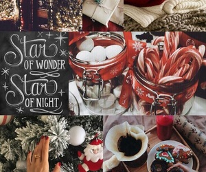 christmas, Collage, and december image