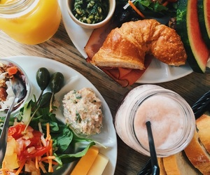 bread, breakfast, and brunch image