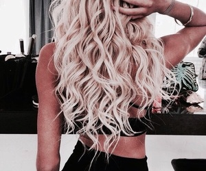 curls, fashion, and filter image