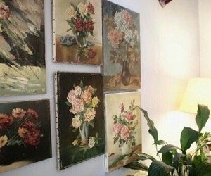 art, flowers, and indie image