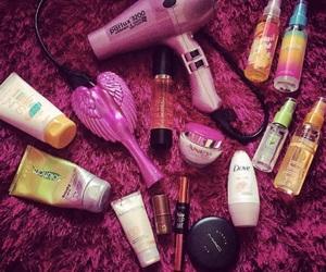 avon, cosmetics, and hair image
