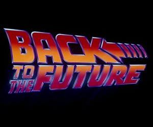 Back to the Future and 90s image