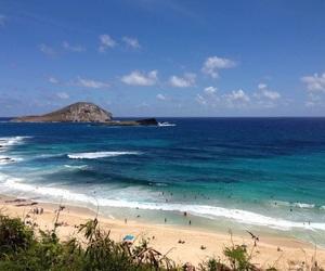 paradise, sand, and travel image