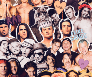 flea, rhcp, and anthony kiedis image