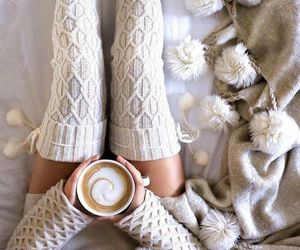 coffee, home, and winter image