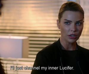 lucifer, tv show, and lauren german image