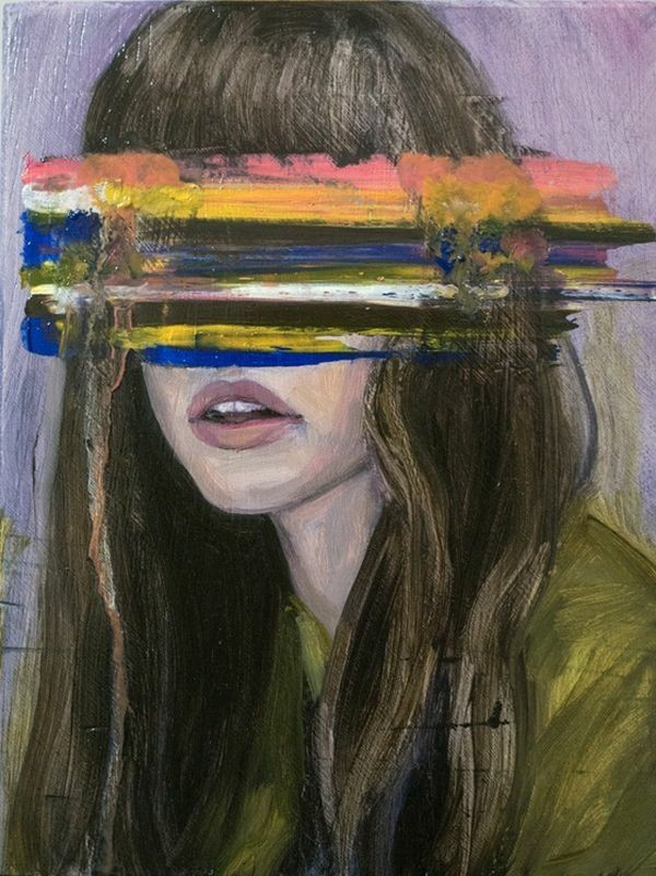 Image About Girl In Painting By Alone Girl On We Heart It