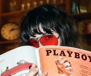 girl and Playboy image