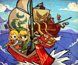 link and wind waker image
