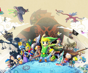 game, the legend of zelda, and wind waker image