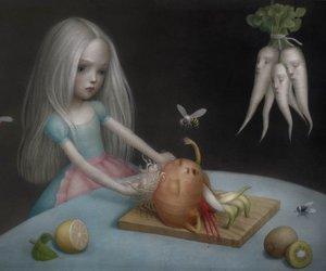 art, tumblr, and nicoletta ceccoli image