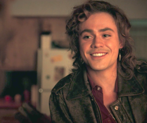 stranger things, dacre montgomery, and love image