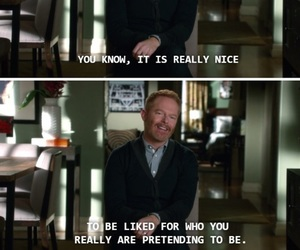 funny, modern family, and mitchell pritchett image