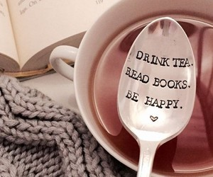 books, quotes, and happy image