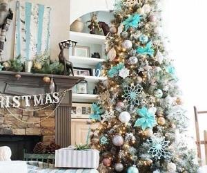 christmas, home, and tree image