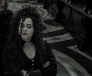 bellatrix lestrange, harry potter, and helena bonham carter image