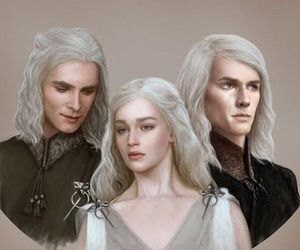 game of thrones, got, and targaryen image
