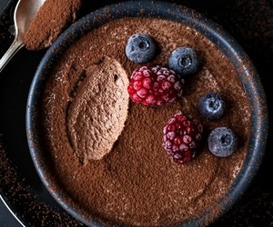 baking, chocolate, and food image