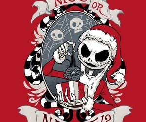 christmas, Halloween, and jack skellington image