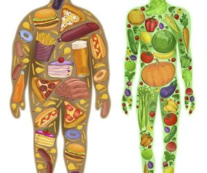 fitness, food, and health image