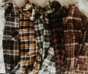flannel and aesthetic image