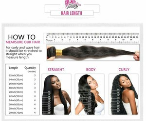 hair, measure, and weaves image
