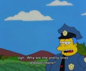 the simpsons and pretty image