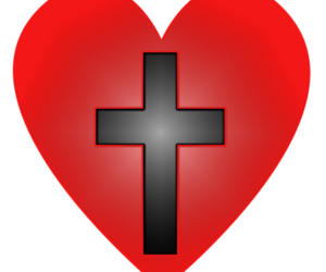 black, black and red, and Christianity image