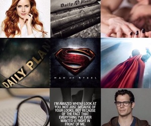 aesthetic, Henry Cavill, and dc comics image