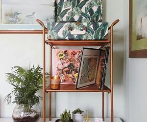 plants, boho, and home image