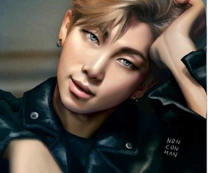 fanart, bts, and rm image