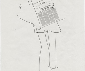 art and newspaper image