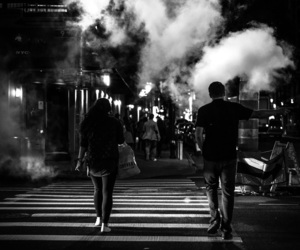 black, black&white, and couple image