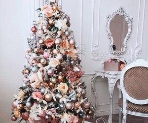 christmas tree, gift, and gifts image
