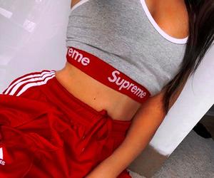 supreme, fashion, and red image
