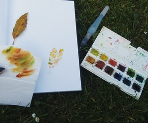 aquarelle, color, and painting image