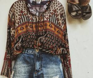 boho, hippie style, and fashion image