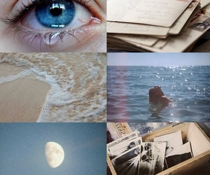 aesthetic, blue, and ocean image