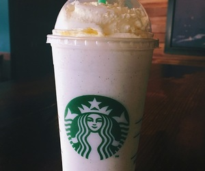 california, drink, and frappuccino image